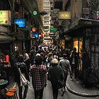 Centre Place, Flinders Lane by Lucas D'Arcy