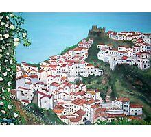 The village of Casares, Malaga Photographic Print
