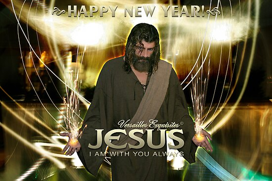 Jesus, Happy New Year! ( I am with you always) by Angelicus