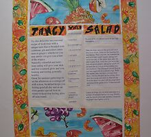 TEENaGE Angst - 2 Salad Menu by Tuartkatz