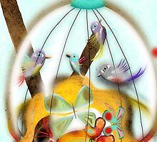 Feeling birds in my mind by rupydetequila