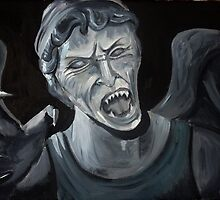 Dr Who Villains No. 2: The Weeping Angel (Flesh&Stone) by debzandbex
