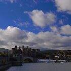 Conwy Castle/Castell Conwy by blodauhyfryd