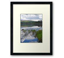 Lough Eske Portrait Framed Print