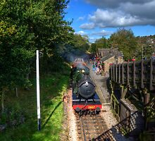 Haworth Station  by Rob Hawkins