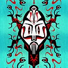 Shaman mask - iPhone case by KenRinkel