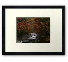 Fall in Coos Canyon Framed Print