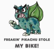 FREAKING PIKACHU! by bethychan