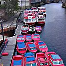 Boats on the River Ouse in York (HTC) - 1 by PhotogeniquE IPA