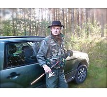 Brown Sugar Fishing Adventures . Poland, Subaru Team. by Peter. Photographic Print