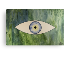 Sea Monster Eye Metal Print