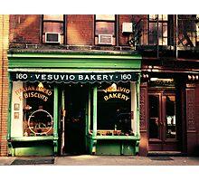 Vesuvio Bakery - Soho - New York City Photographic Print
