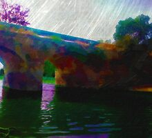 Bridge over troubled water by Gal Lo Leggio