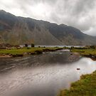 Wastwater Lake Cumbria by WOBBLYMOL