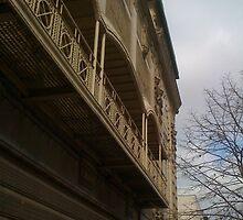 Ornate Balcony by Mark Roon-Reitmeier