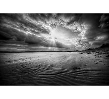 Sand Storm Photographic Print