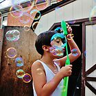 Bubbles All Around by ClaudineAvalos