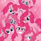 Pinkie Pied iPhone Case by SilverPonyWare