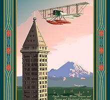 Seattle Icons by contourcreative