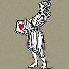 Boxed Heart - iPhone case by KenRinkel