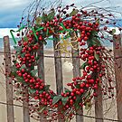 Beach Berry Wreath by Maria Dryfhout