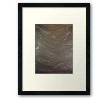 Abstract Valley Framed Print