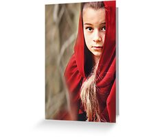 Little Red 7 Greeting Card