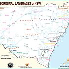 NSW Aboriginal Language Map by LESLEY B