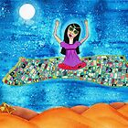 Missy's Magical Flying carpet by Meliesque