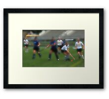091611 060 0 water color field hockey Framed Print