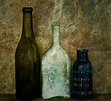 Old Bottles III by Barbara Ingersoll