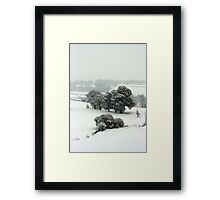 Winter in Petworth Framed Print