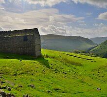 Yorkshire: A Barn Near Keld by Rob Parsons