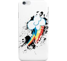 Rainbow Dash Splatter Mark iPhone Case/Skin