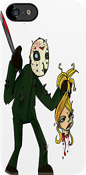 Urbnpop- Friday the 13th I-phone case by urbnpop