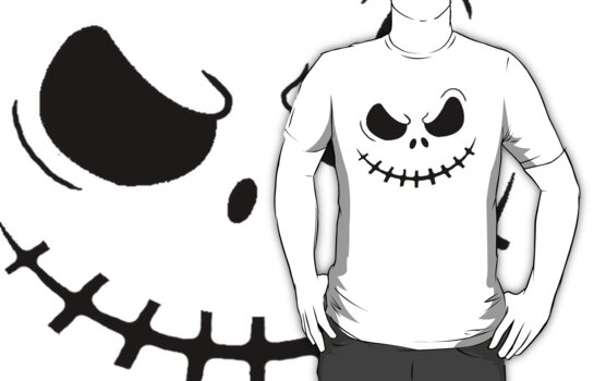 Skellington Shirt by jonmelnichenko