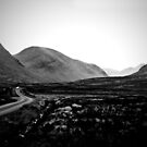 into Glen Etive by Dorit