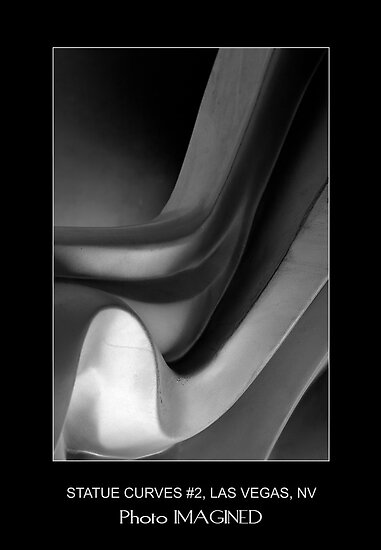STATUE CURVES #2, MGM GRAND, LAS VEGAS NV. by PhotoIMAGINED
