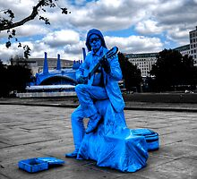 Busking the Blues by Roddy Atkinson