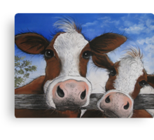 """"""" The Grass is Greener """" Canvas Print"""