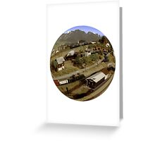 Trains - It's a Small World Greeting Card