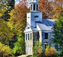 Country Church by Barbara Manis