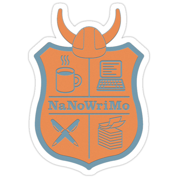 NaNoWriMo Badge by Jeffrey West