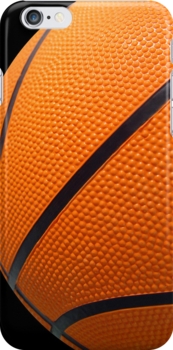 Basketball iPhone 4 Cases by idesignstuff