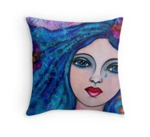 Cry Not, Weep No Tears Throw Pillow