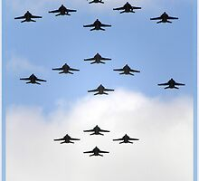 Flying in Formation by Kym Howard
