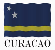 Curacao flag by stuwdamdorp