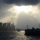 Sunlight on Hong Kong by turningjapanese