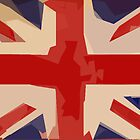 Abstract Union Jack 003 by MaverickDesign