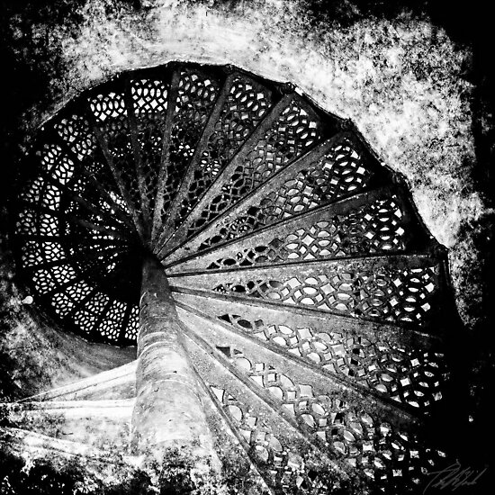 Stairs up to the Light by Theodore Black